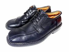 SKECHERS COLLECTION SHOES OXFORD BLACK LEATHER MENS SIZE 9.5