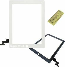 New White Front Touch Screen Digitiser for iPad 2 MC755LL/A FREE TAPE!!!!!!!!!!!