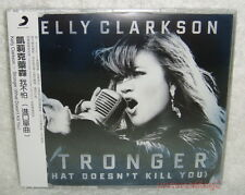 Kelly Clarkson Stronger (What Doesn't Kill You) Taiwan CD w/OBI (remix)
