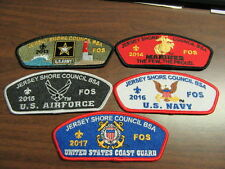 Jersey Shore Council 5 Branches of the Military CSP Collection     PHNJ