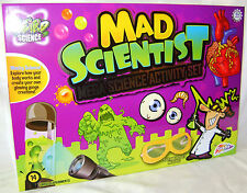 NEW MAD SCIENTIST MEGA SCIENCE SET 14 GROSS EXPERIMENTS GRAFIX LG