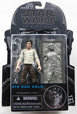 "Star Wars 3.75"" Black Series 2015 Han Solo & Carbonite Action Figures #19 NEW"