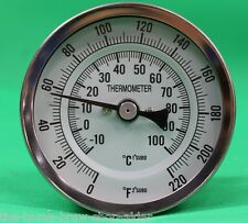 "Weldless Thermometer 5"" Long- Home Brewing - All Grain - Boiler - Mash Tun - HLT"