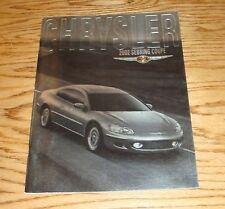 Original 2002 Chrysler Sebring Coupe Deluxe Sales Brochure 02