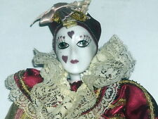 Kingstate Porcelain Clown Doll