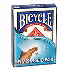 Bicycle Invisible Deck Playing Cards New