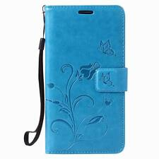 Flower Magnetic Flip PU Leather Wallet Card Stand Case Cover For LG G5 K7 K8 K10