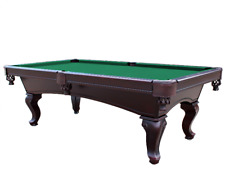 Championship Saturn II Billiards Cloth Pool Table Felt 7 Ft. Green