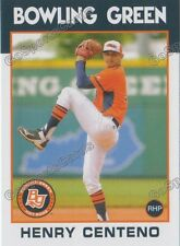 2016 Bowling Green Hot Rods Henry Centeno RC Rookie Rays VZ