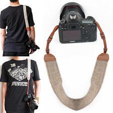 Brown Camera Shoulder Neck Vintage Strap Sling Belt for Sony Canon DSLR SLR
