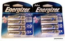 8~Energizer AA Ultimate Lithium Qty 8 Batteries L91 FR6 1.5v New Expires 2036