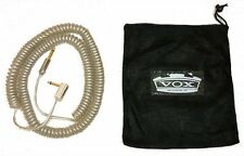 VOX VCC-90 VCC Vintage Coiled Cable 9m SILVER Guitar / Bass 29.5 feet