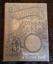 Rare Gustave Dore Illustrated Idylls Of The King Alfred Lord Tennyson 1889