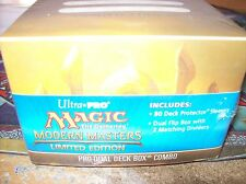 GOLD MODERN MASTERS LIMITED EDITION ULTRA PRO PRO-DUAL DECK BOX COMBO FOR MTG