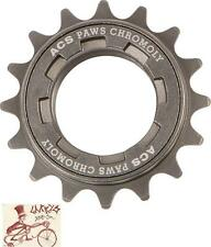 "ACS PAWS 16T----1/8""--3/32"" TEETH GUNMETAL BMX BICYCLE FREEWHEEL"