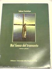 NEL FUOCO DEL TRAMONTO Romanzo plurimo Salcan Cantalupo Edizione Magna Graecia