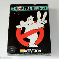 GHOSTBUSTERS C64 Activision Boxed Commodore 64 Game Original Cassette Tape