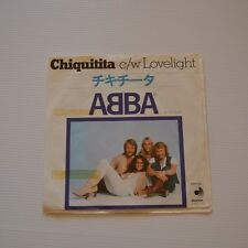 "ABBA - Chiquitita - 1979  7"" SINGLE JAPAN"