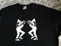 Two Tone Rude Boy Girl Tee Shirt: All Sizes: Fathers Day: Ska Specials Buster