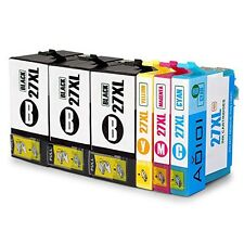 Premium Replacement 27XL Ink Cartridges Compatible With Epson WorkForce Printers