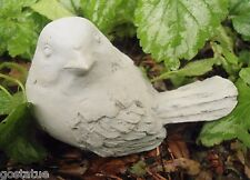 Latex with plastic backup head turned woodsy Bird concrete  plaster mold