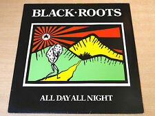 Black Roots/All Day All Night/1987 Nubian LP/Reggae