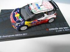 CITROEN DS3 WRC RALLY MEXICO 2011 LOEB EAGLEMOSS IXO 1/43