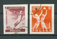 Polen Briefmarken 1955 Jugend- Sportfestspiele Mi.Nr.936+937