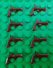 *NEW* Lego Bulk Brown Muskets Pistol Guns Pirate Minifigures People - 8 pieces