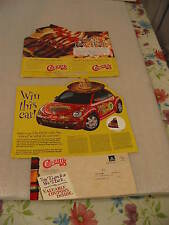 Chi-Chi's Restaurant Ad Flyers Win a VW Beetle From 2000
