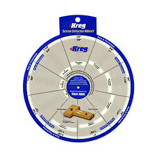 Kreg SSW Screw Selector Wheel Thickness for Kreg Jig, K3, K4, K4MS, K5, and R3