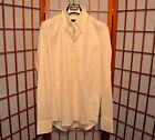 DSQUARED2 YELLOW SHINY SOFT OXFORD BUTTON-UP RUNWAY DRESS SHIRT jean S M 36 46