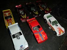 7 CAR LOT VINTAGE HOT WHEELS FUNNY CARS ARMY SNAKE SHOW HOSS MUSTANG BW +