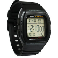 Casio W96H-1BV Men's Classic Chronograph Digital Sports Watch w/ 10 Year Battery