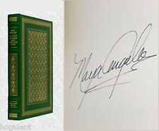 LTD Signed First Edition - Leather w/22kGold - ALL GOD'S CHILDREN - Maya Angelou
