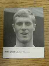 02/07/1965 Soccer Star Magazine: Cut-Out - Sheffield Wednesday - Usher, Brian (3