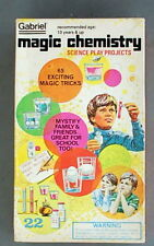 Unused Vintage 1977 Gabriel MAGIC CHEMISTRY SET No. 32200 MIB