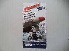 advertising Pubblicità 1979 OLIO FIAT e MOTO KTM