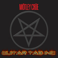 Motley Crue Guitar Tab SHOUT AT THE DEVIL Lessons on Disc