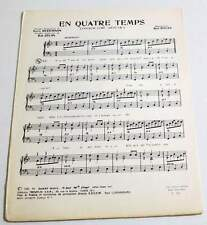 Partition vintage sheet music BOB DYLAN : Fourth Time Around * 60's Rare !