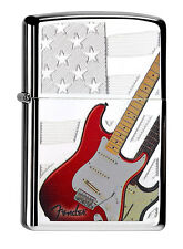 Zippo Fender Guitare Haute Chrome poli 60000084 Collection 2015