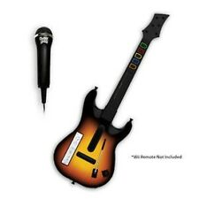 Wii Wireless GUITAR Hero World Tour Guitar + Microphone