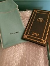 Tiffany & Co Hall Marks small Book New york London Paris 1943 edition