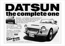 DATSUN FAIRLADY 1600 SPORTS SPL311 RETRO A3 POSTER PRINT FROM 60'S ADVERT