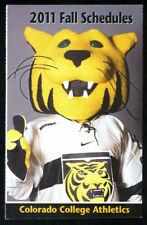 2011 COLORADO COLLEGE FALL SPORTS POCKET SCHEDULE  FREE SHIPPING
