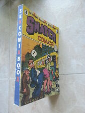 SNATCH COMICS-SEX COMIX BOOX- ED. STAMPA ALTERNATIVA-1996-Fumetti erotici USA