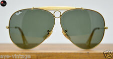 B&L Ray Ban Aviator Shooter Vintage Bausch Lomb Glass Brille Pilot Wayfarer USA