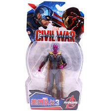 Marvel Vision 7 Inch Action Figure Captain America:Civil War Toy Gift