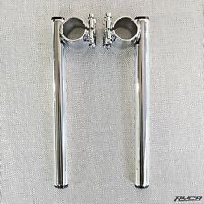 "1"" Motorcycle Clip On Handlebars Chrome for Harley Davidson Sportster clipon"