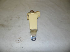 OEM 1988 Cadillac Deville Passenger's Cameo Ivory Yellow Seat Belt Male Buckle